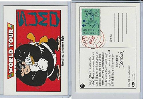 (1992 Impel, Walt Disney Cards, 174 Donald Duck, Pete, Japan)