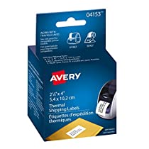 Avery Shipping Labels for Thermal Label Printers,  2-1/8 x 4,
