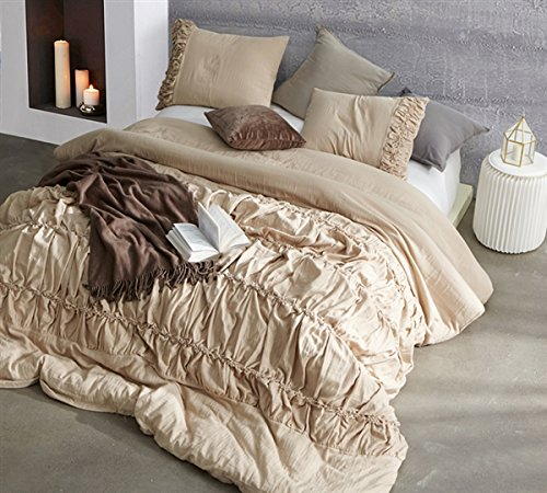 Byourbed Douro Valley Twin XL Duvet Cover - Toasted Almond (Almond Cover Duvet)