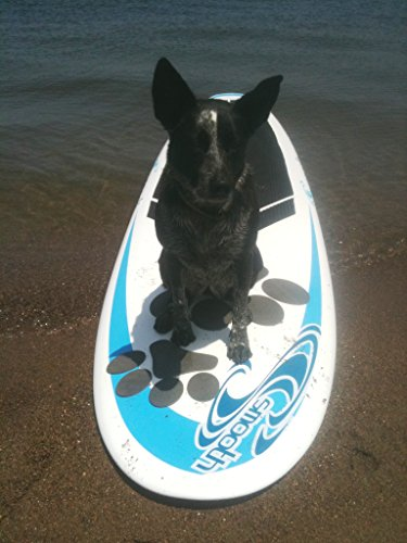 Pup Deck Dog Traction pad for paddleboards, kayaks, training
