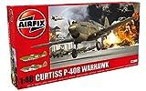 ww2 model planes - Airfix WWII Curtiss P-40B Warhawk 1:48 Military Aircraft Plastic Model Kit