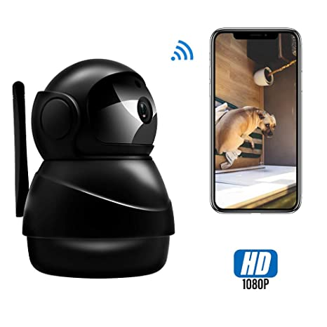 Amazon.com: Veroyi Cámara IP Full HD 1080P WiFi Cámara de ...
