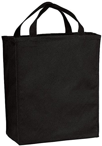 Port & Company Grocery Tote - Port & Company luggage-and-bags Grocery Tote OSFA Black