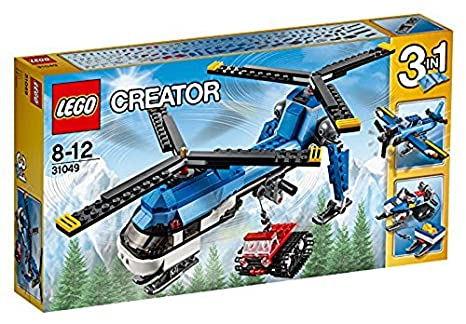LEGO 31049 Creator Twin Spin Helicopter: Lego: Amazon.co.uk: Toys & Games