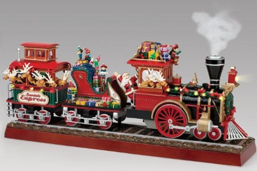 Mr. Christmas Animated Musical Lighted Santa's Express Decoration (Animated Christmas Decorations)