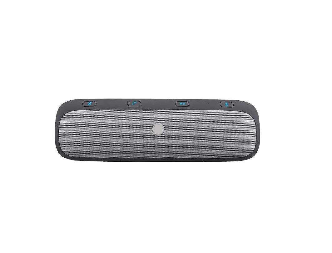 Kit Del Coche Del Visera Del Sol De Bluetooth Con El Sensor De Movimiento, Ayuda Para El GPS, Música, Altavoces Sin Hilos De Los Coches De Manos, ...