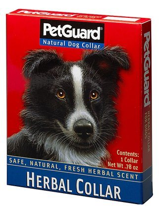 PetGuard Herbal Collar for Dogs (Quantity of 4)