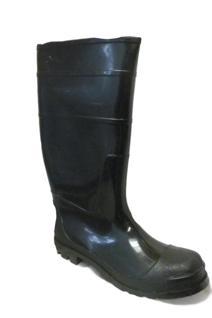 Ska Doo Mens Black Weatherproof Rubber Blazer Rain Boots 13 M US by SkaDoo (Image #1)