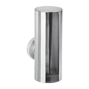 Byrak Edelstahl Badzubehör Badezimmer Accessoires Badausstattung  Badgarnitur Badezimmer Set (Wattepadspender Edelstahl)