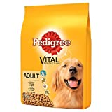 Pedigree Dry Dog Food for Adult Dogs 1+ with Chicken, 1 Bag (1 x 15 kg)