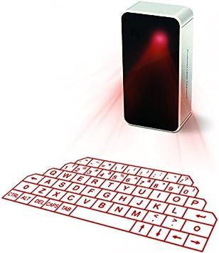 Amazon.com: Mini teclado de proyección láser virtual ...