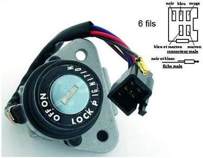 Compatible avec//Remplacement pour 125 DTR-250 TZR-350-600 XT-NEIMAN CONTACTEUR A CLEF SWI027