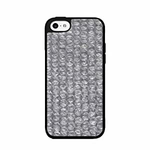 Clear Bubble Wrap TPU RUBBER SILICONE Phone Case Back Cover iPhone 5c by lolosakes