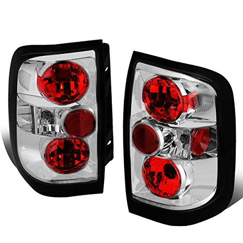 - For 1996-2004 Nissan Pathfinder/Infiniti QX4 Chrome Housing Altezza Style Tail Light Brake/Parking Lamps