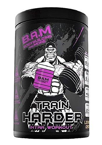 B.A.M Train HARDER(1200g) Lemon-Das neue und besste Intra-Workout Supplement