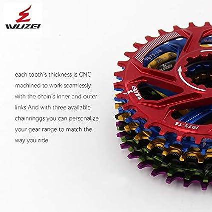 RACEWORK 32-38t Bicycle MTB Chainring Crankset Plate FIT GXP XX1 XO CNC AL7075