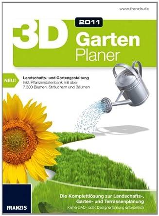 Franzis 3d Gartenplaner Edition 2011 Amazonde Software