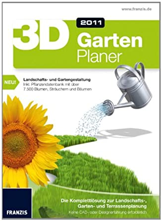 Franzis 3D Gartenplaner Edition 2011