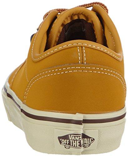 VansY ATWOOD BUCK - Zapatillas Niños^Niñas negro - Schwarz (Buck oak buff/potting soil)