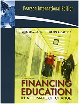 Financing Education in a Climate of Change: International Edition