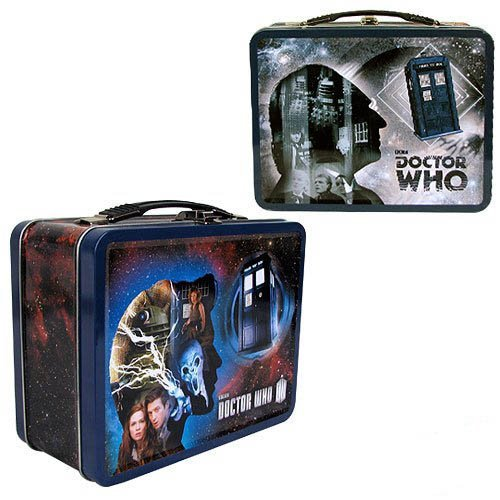 Doctor Who 1st and 11th Doctors Tin Tote]()