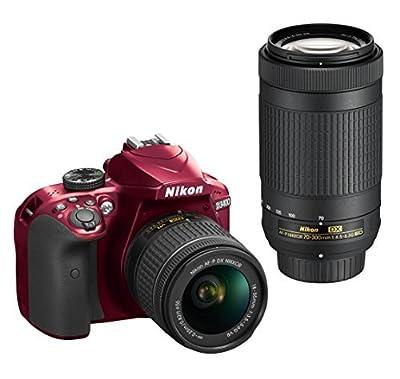 Nikon D3400 w/AF-P DX NIKKOR 18-55mm f/3.5-5.6G VR (Black) by Nikon