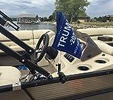 Caddie Buddy Trump Flag Mount for Boats