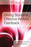 img - for Giving Students Effective Written Feedback (Open Up Study Skills) book / textbook / text book