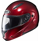 HJC Mens CL-Max 2 Modular Motorcycle Helmet Wine Extra Small XS