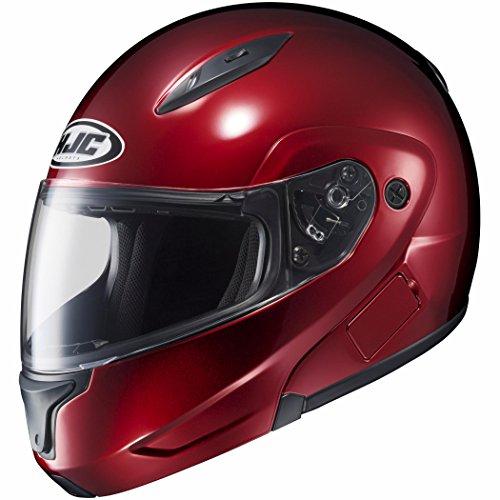 Hjc Wine Max Cl (HJC Mens CL-Max 2 Modular Motorcycle Helmet Wine Extra Small XS)