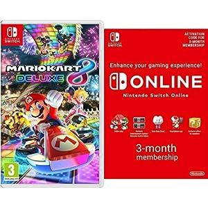 Mario Kart 8 Deluxe [Nintendo Switch] + Switch Online 3 Months [Download Code]