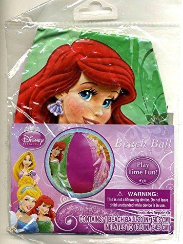 "Disney Princess Ariel Little Mermaid 20"" Beach Ball Styles Vary"