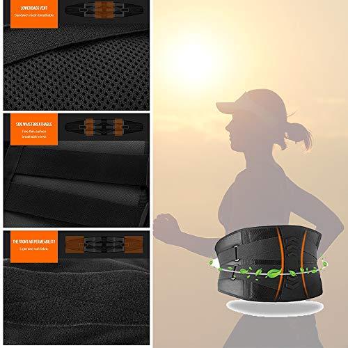 Fay Bless 2020 Back Brace Sweat Waist Trainer Corset Trimmer Belt for Women & Men XL…