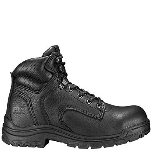 Timberland PRO Women's 72399 Titan 6'' Safety-Toe Boot,Black,6 M
