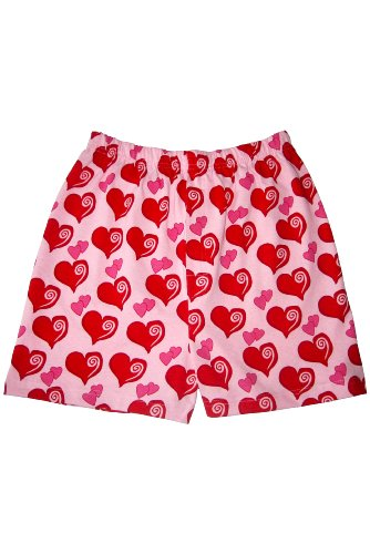 SockShop Men's 1 Pair Magic Boxer Shorts In Heart Pattern Large Pink