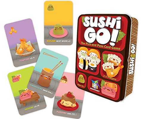 Sushi Go! - The Pick and Pass Card Game JungleDealsBlog.com