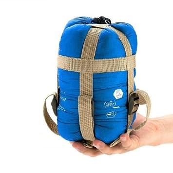 Portable Impermeable Ultraligero Envelope Saco de Dormir Bolsa de Dormir Sleeping Bag (azul de cielo): Amazon.es: Deportes y aire libre