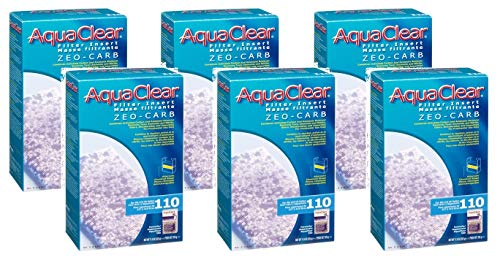 Aqua Clear 110 (500) Zeo-Carb Insert Media x 6pk