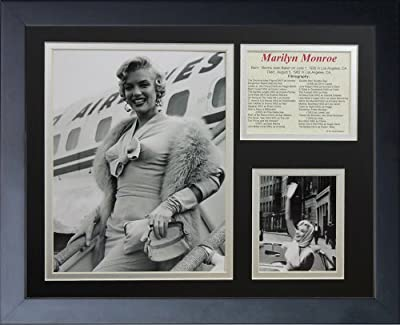 "Legends Never Die ""Marilyn Monroe TWA"" Framed Photo Collage, 11 x 14-Inch"