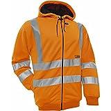 Blakl?der 334719745300M Size Medium High Vis Hoodies Jacket - Orange by Blakl?der