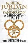 La Roue du Temps - Intégrale 14 : A memory of light par Sanderson