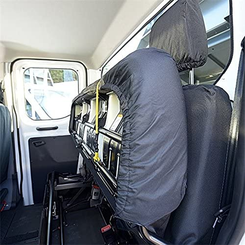 Black UK Custom Covers SC120B-SC180B Tailored Heavy Duty Waterproof Front /& Rear seat Covers