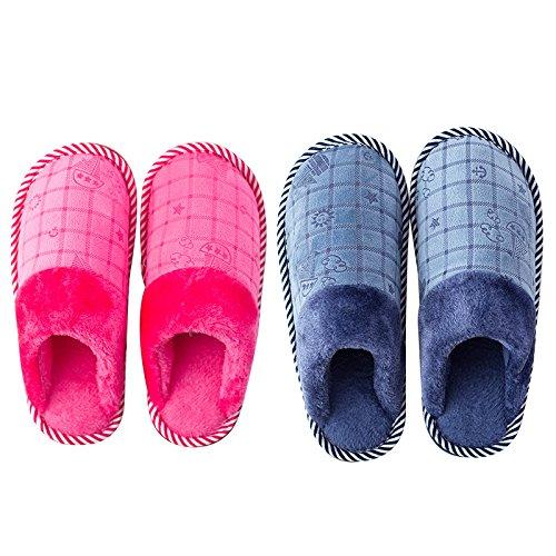 40 moelleux Voile 36 nbsp; Chambre chaleureux Pink en 37 Modèles Hommes Femmes 41 Chaussons Accueil au LaxBa l'hiver de antiglisse Marine hiver chaud Chaussons L'hiver Chaussons chaussures aOqRgYn4
