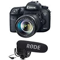 Canon EOS 7D Mark II Digital SLR Camera with EF-S 18-135mm IS STM Lens Kit - WITH Rode Microphones VideoMic Pro R Cardioid Condenser Microphone