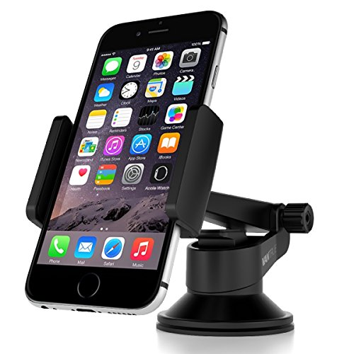 Amazon Lightning Deal 67% claimed: Vantrue Car Mount Phone Holder - M1 360° Rotation Universal Car Mount Cradle for iPhone 6 6S Plus SE 5S, Samsung Galaxy S7 S6 Edge S5, Nexus 6P, LG G4, Blackberry, HTC M9 and More Android Smartphones