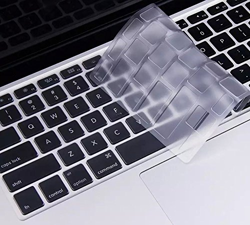 Ultra Thin TPU Clear Keyboard Protector Cover for Old MacBook Pro 13