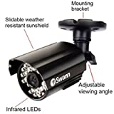 Swann Pro Security High Resolution Waterproof Day/Night Camera - Twin Pack