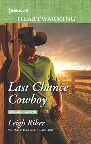 Last Chance Cowboy: A Clean Romance (Kansas Cowboys) by [Riker, Leigh]