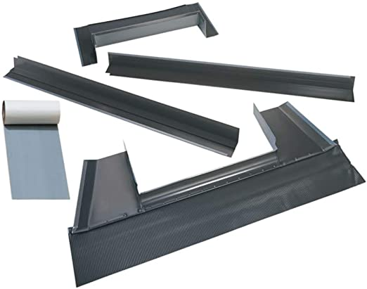 Velux EDL Deck Mounted Skylight Flashing for Low Profile Roofs