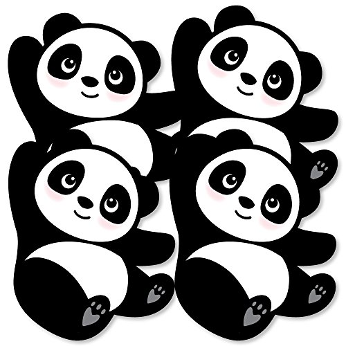 Party Like a Panda Bear - Decorations DIY Baby Shower or Birthday Party Essentials - Set of 20 -